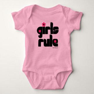 Bébé de règle de filles t-shirt
