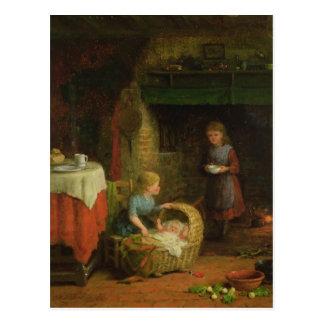 Bébé de Roche-un-Bye Carte Postale