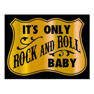 Bébé de rock d It´s seulement Carte Postale