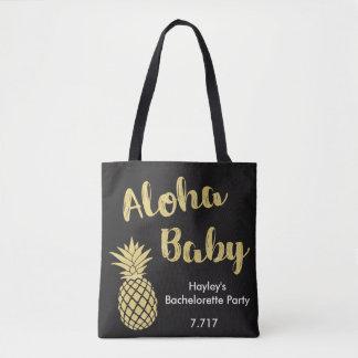Bébé de sac de Bachelorette Aloha !