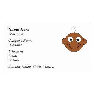 Bébé de sourire mignon carte de visite standard