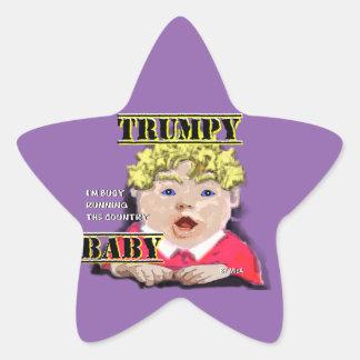 Bébé de Trumpy - autocollants - tenez le premier