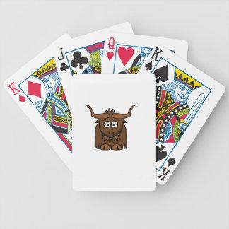 bébé de yaks jeux de cartes