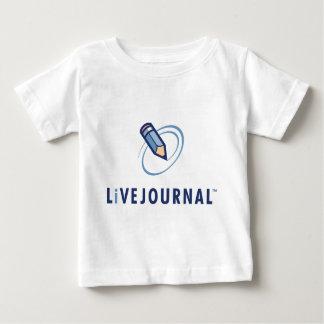 Bébé et enfant en bas âge (verticale de logo) t-shirt pour bébé
