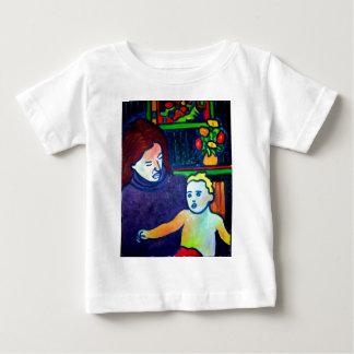 Bébé et mère par Piliero T-shirts