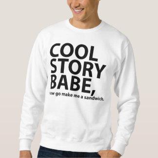 bébé frais d'histoire sweatshirt