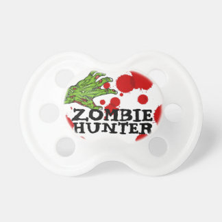 """Bébé humoristique """"de chasseur de zombi"""" tétines"""
