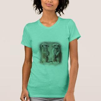 Bébé jumeau Meerkats T-shirt