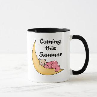 Bébé l'été de lune mug
