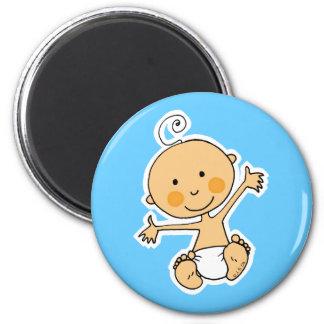 Bébé Magnet Rond 8 Cm