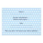 Bébé mignon, sur le modèle de point bleu de polka cartons d'invitation