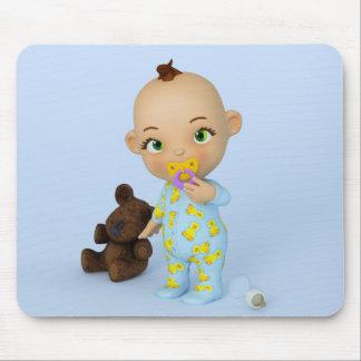 Bébé Mousepad de Toon Tapis De Souris
