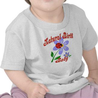 Bébé naturel de naissance, T-shirt mignon de bébé