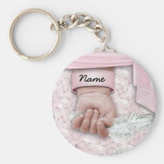 Bébé personnalisable porte-clé rond