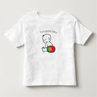 Bébé portugais t-shirt pour les tous petits