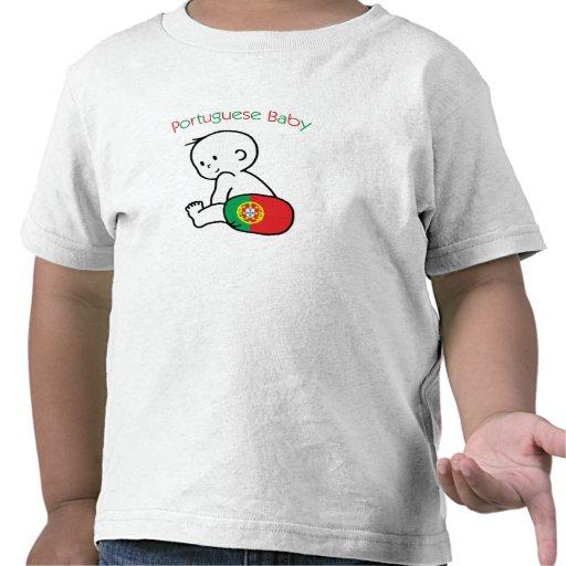 Bébé portugais t-shirts
