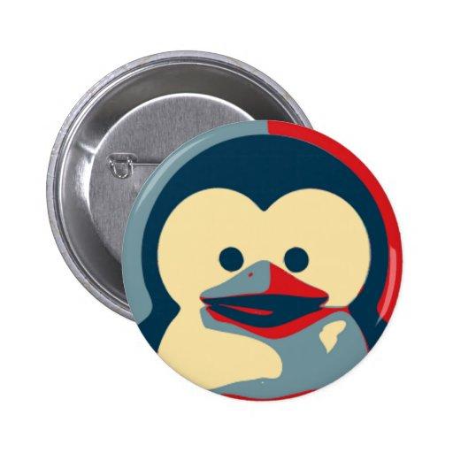 Bébé Tux Linux Pin's Avec Agrafe