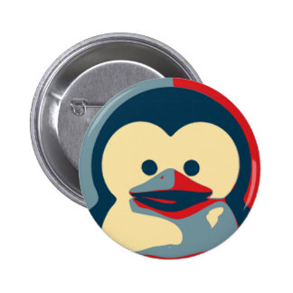 Bébé Tux Linux Badge Rond 5 Cm