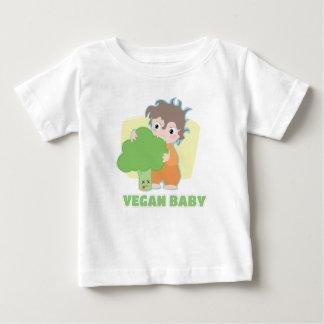 Bébé végétalien t-shirt pour bébé