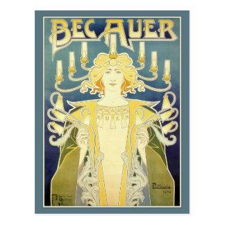 BEC Auer (bleu) Carte Postale