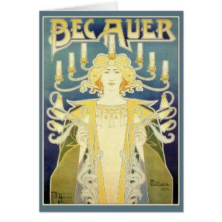 BEC Auer (bleu) Cartes De Vœux