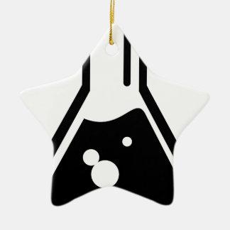 Becher chimique ornement étoile en céramique
