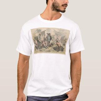 Bêcheurs d'or de la Californie (2525A) T-shirt