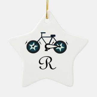 becycler ornement étoile en céramique