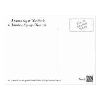 Beer-Sheva jaillit carte postale