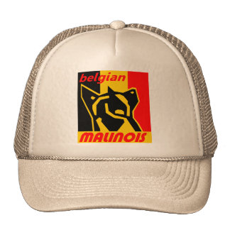 begian-malinois 1 casquette de camionneur