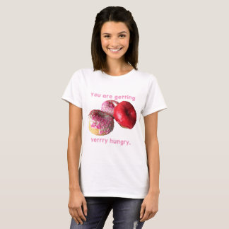 Beignet vous obtenez le T-shirt très affamé