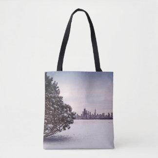 bel hiver Chicago - sacs fourre-tout