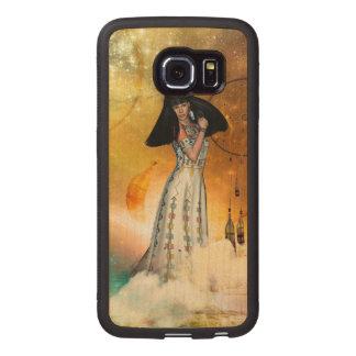 Bel Indien amarican Coque De Téléphone En Bois