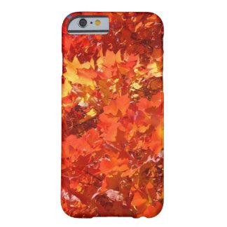 Bel iPhone de feuille d'automne 6 mercis de cadeau Coque iPhone 6 Barely There