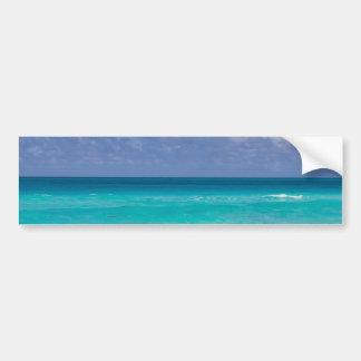 Bel océan bleu autocollant de voiture
