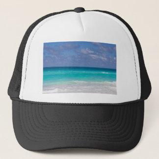 Bel océan bleu casquette
