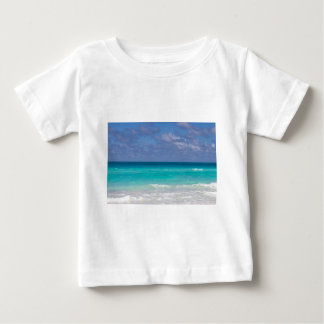 Bel océan bleu t-shirt pour bébé