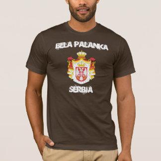 Bela Palanka, Serbie avec le manteau des bras T-shirt