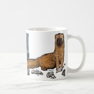 Belette d'hiver et d'été mug