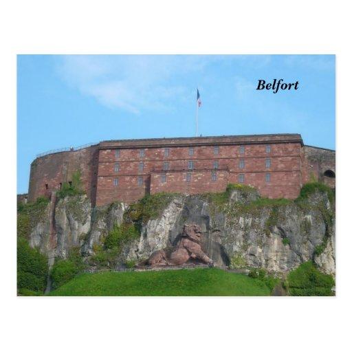 Belfort - carte postale