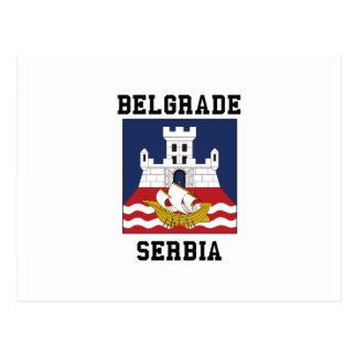 Belgrade Serbie Carte Postale