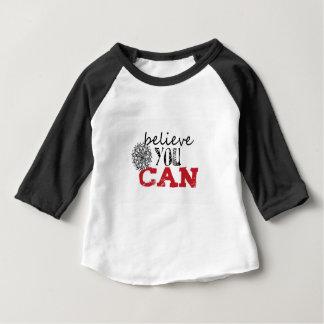 Beliece vous pouvez t-shirt pour bébé