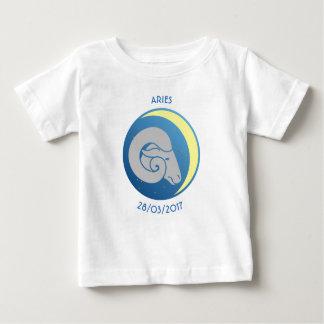 Bélier de T-shirt de bébé de signe d'étoile