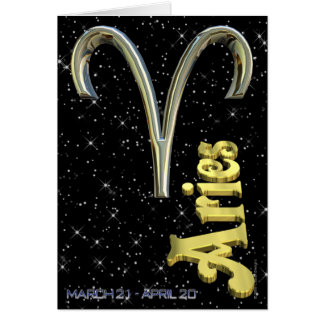 Bélier - du 21 mars au 20 avril carte de vœux