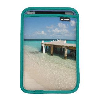 Belize, mer des Caraïbes, Goff Caye. Une petite Housses iPad Mini