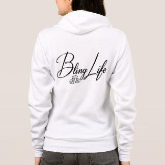 Bella des femmes de Blinglife+Sweat - shirt à Veste À Capuche