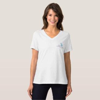 Bella des femmes sages de hibou+V-Pièce en t T-shirt