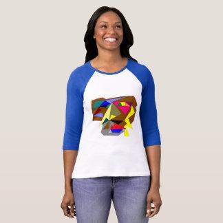 Bella des femmes+T-shirt de douille de la toile T-shirt