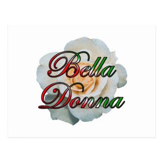 Bella Donna (belle Madame) Carte Postale