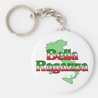 Bella Ragazza belle fille italienne Porte-clés